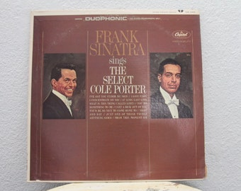 """Frank Sinatra - """"Sings The Select Cole Porter"""" vinyl record"""