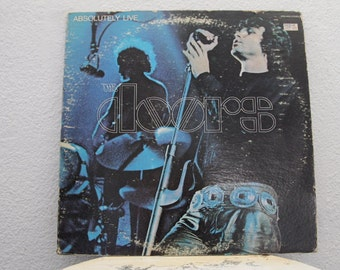 """The Doors - """"Absolutely Live"""" vinyl records, 2 LPs"""