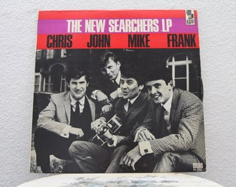 "The Searchers - ""The New Searchers LP"" vinyl record"