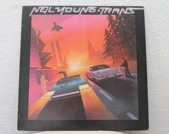 "Neil Young - ""Trans"" vinyl record (NT)"