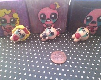The Binding of Isaac charm necklace