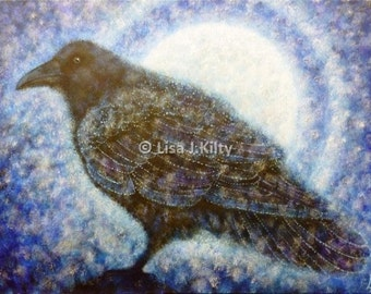 Corvus Corax ( Raven) High Quality Limited Edition Print