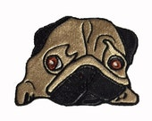Embroidery Baby Pug Design Files. Digital Download 5 x 7 inch Hoop. 6 Formats.
