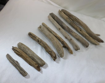 Bulk Driftwood - Driftwood Pieces - Craft Supplies - 10 Round Shaped Drift Wood Pieces