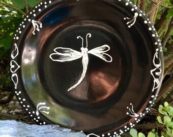 Dragonfly Ceramic Dinner Ware Set of 5