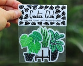 Houseplant Sticker Pack