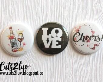 "3 badges 1 ""Cheers"