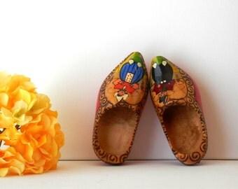 Vintage Clogs, Wooden Clogs, Clogs Decor, Holland