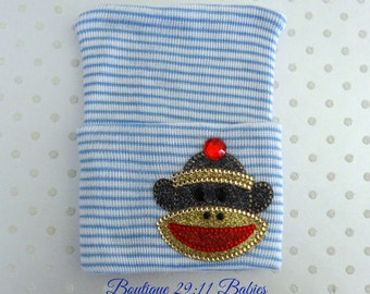 Last One.Monkey Newborn Hospital Hat, newborn monkey hat, Newborn Beanie, Photo Prop, Baby Boy Shower Gift, boy push gift, infant boy shower