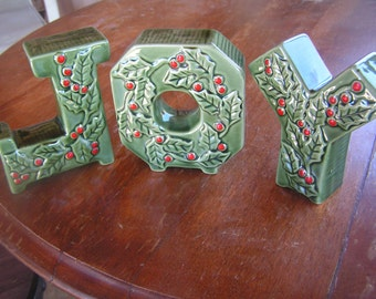 Christmas JOY Letters