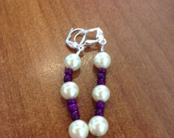 Vicky,Empress Frederick Inspired earrings