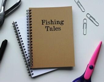 Fishing Tales- 5 x 7 journal