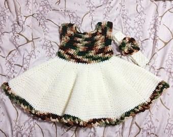 Crochet Dress Set - PDF PATTERN ONLY
