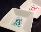 Personalized Ceramic Ring Dish