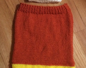 candy corn Halloween cocoon for baby