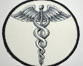 Iron on Patch - CADUCEUS