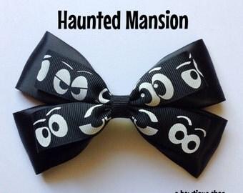 haunted mansion hair bow