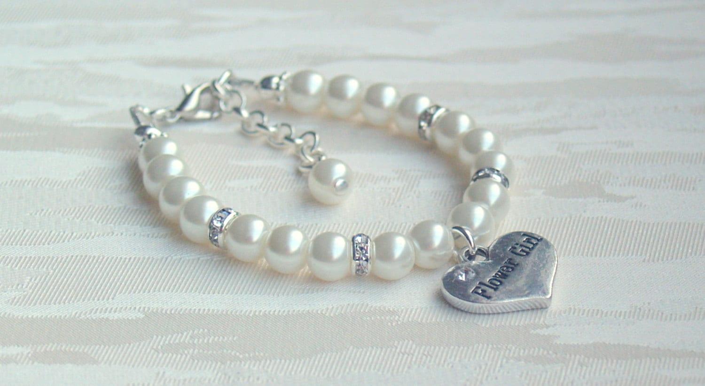 flower bracelet pearl bracelet bracelet flower