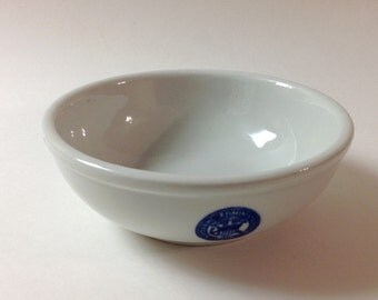 Tepco China Veteran's Administration 1930 Cereal, Soup Bowl, Vintage VA Restaurant, Diner China Bowl