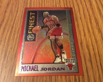 Michael Jordan Topps Finest Card