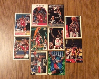 50 Houston Rockets Basketball Cards