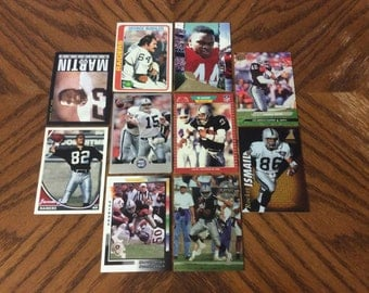 50 Vintage Los Angeles Raiders Cards