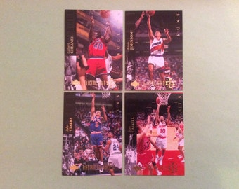 4 Electric Gold Insert Cards