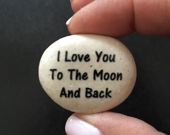 Custom rocks-  inspirational stones . Personalized Rock-  Stones with your choice of words or choose from one of ours.