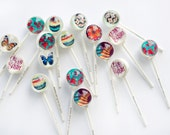 6 Assorted Spring Lollipops for Easter