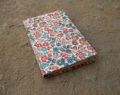 rubrichetta tascabile in carta fiorentina quaderno schizzi diario made in italy