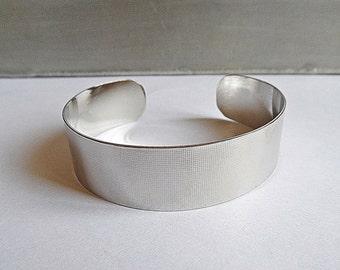 Textured Bracelet hammered silver palladium