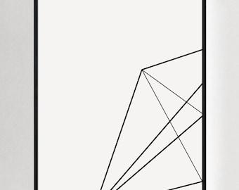 Geometric Prints, Modern Wall Decor, Premium Art, Minimalist Artwork, Geometric Wall Art, Abstract Prints, Modern Art, Modernist Art