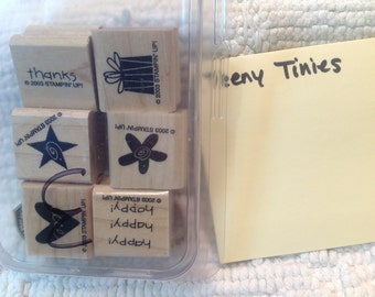 3/10.00 Stampin Up Stamps - TEENY TINIES