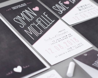 Penny wedding invitation collection