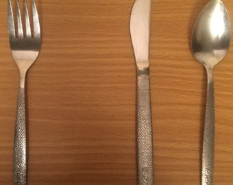 1960's United Airlines silverware