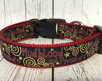 Mudblood Harry Potter Dog Collar