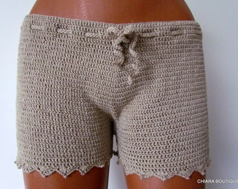 Summer Crochet Shorts