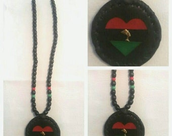 African medallion handmade