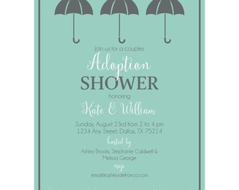 Adoption Shower Invitation | Shower Invitation | Adoption Shower
