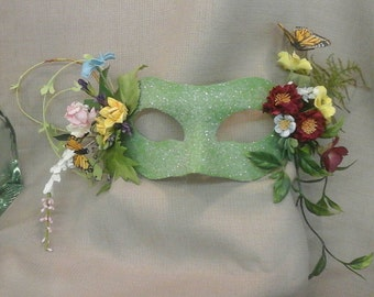 FOREST FAIRY Masquerade Mask