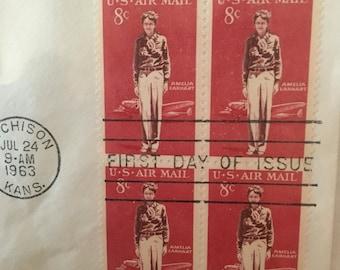 Amelia Earhart stamps