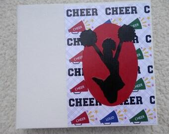 6x6 Brightly Colored Cheer Scrapbook Photo Album