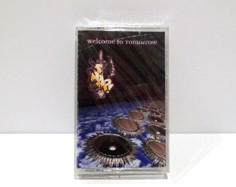 Snap Sealed Vintage Cassette Tape 1994 Band Brand New Snap! Welcome To Tomorrow Waves Power Jam Band Trance Euro House Dance Downtempo
