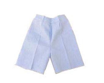 Boys linen light blue shorts, Linen Shorts, Boys Shorts  #8580