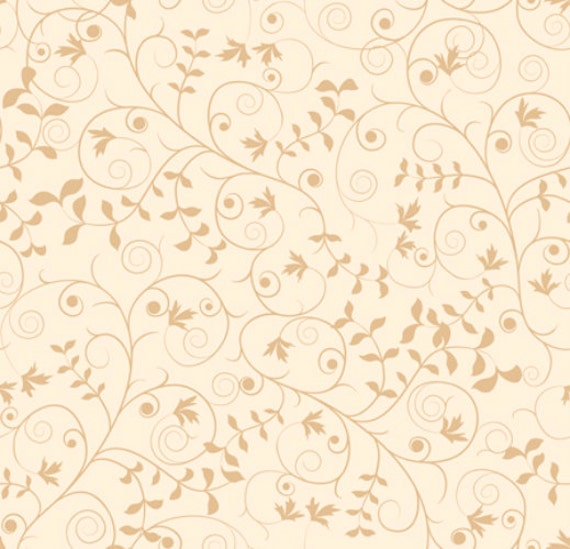 Our Father Scroll Vine Fabric