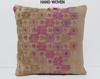 20x20 kilim pillow 20x20 50x50 cushion by decolickilimpillows. Black Bedroom Furniture Sets. Home Design Ideas