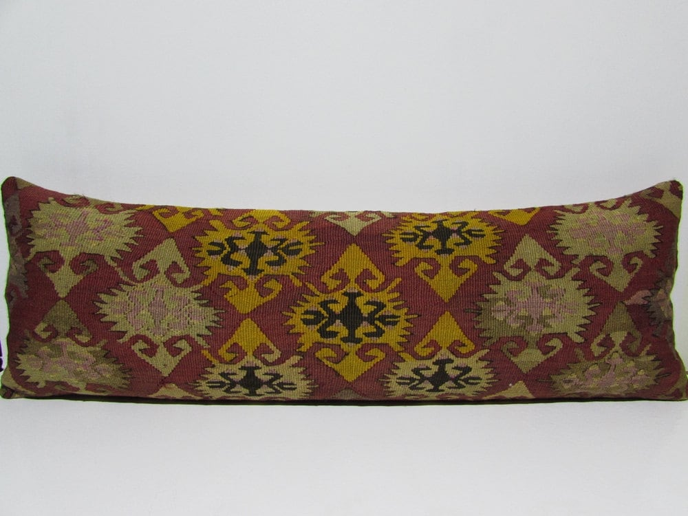 16x48 king size pillow case kilim pillow throw pillows for bed