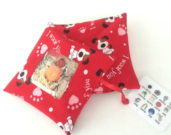 I Spy Bag - Red Puppy Dogs