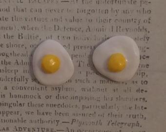 Cute Egg Stud Earrings
