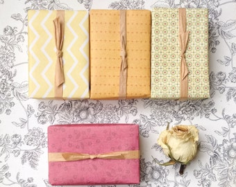 All Natural Soap Gift Set -  Cold Process Soap 4 Bars Bath and Beauty Products